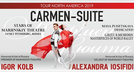 """CARMEN Suite"" - Stars of Mariinskiy Theatre S. Peterburg, Russia"